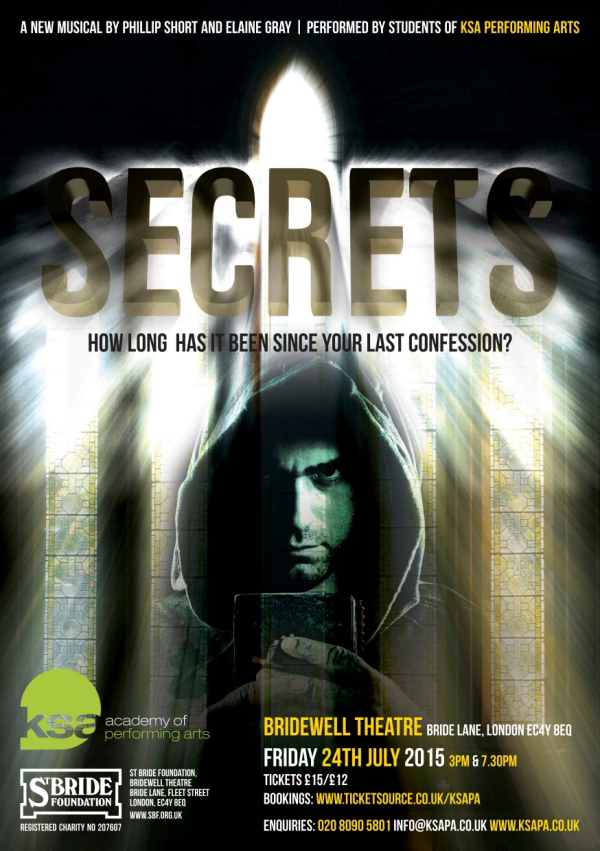 Secrets Bridewell Theatre KSA Academy of Performing Arts London Drama School