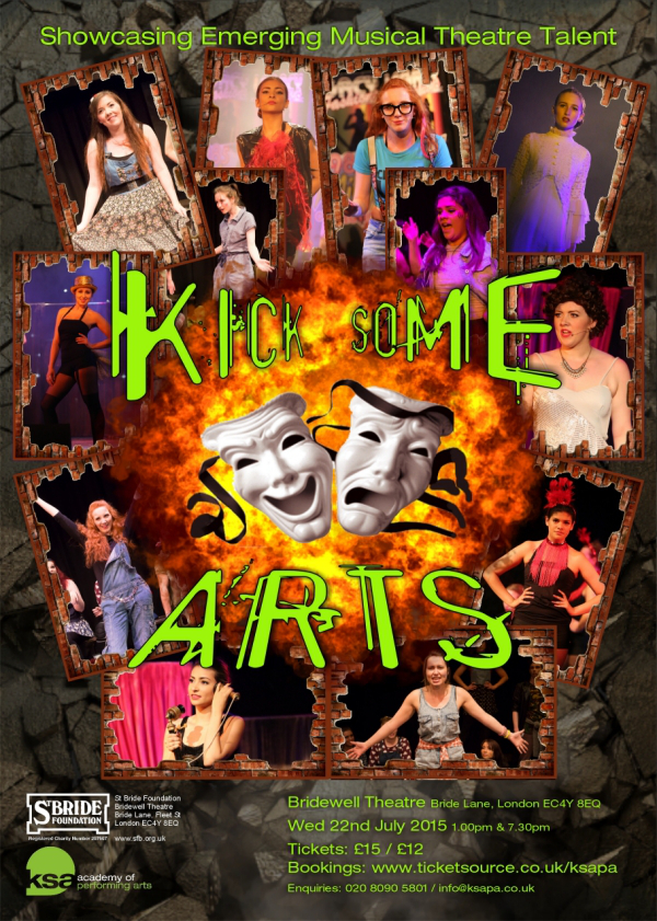 Kick Some Arts Showcase Bridewell Theatre KSA Academy of Performing Arts London Drama School