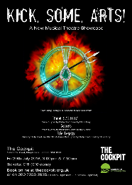 Kick Some Arts! A New Musical Theatre Showcase, The Cockpit, Friday 29th July 2016, London Drama School KSA Academy of Performing Arts Musical Theatre Course Showcase